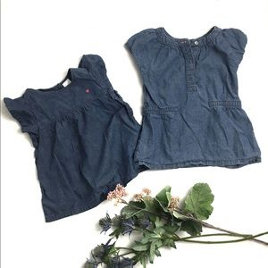 Carter's Chambray Tunic Tops